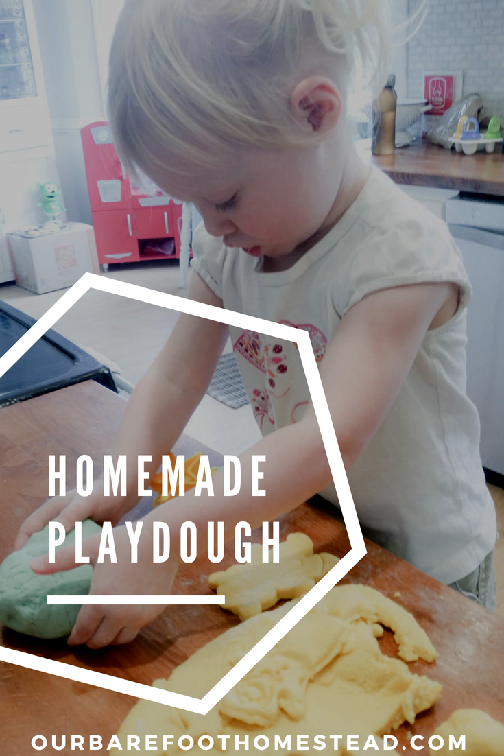 Looking for the perfect easy recipe for homemade playdough?