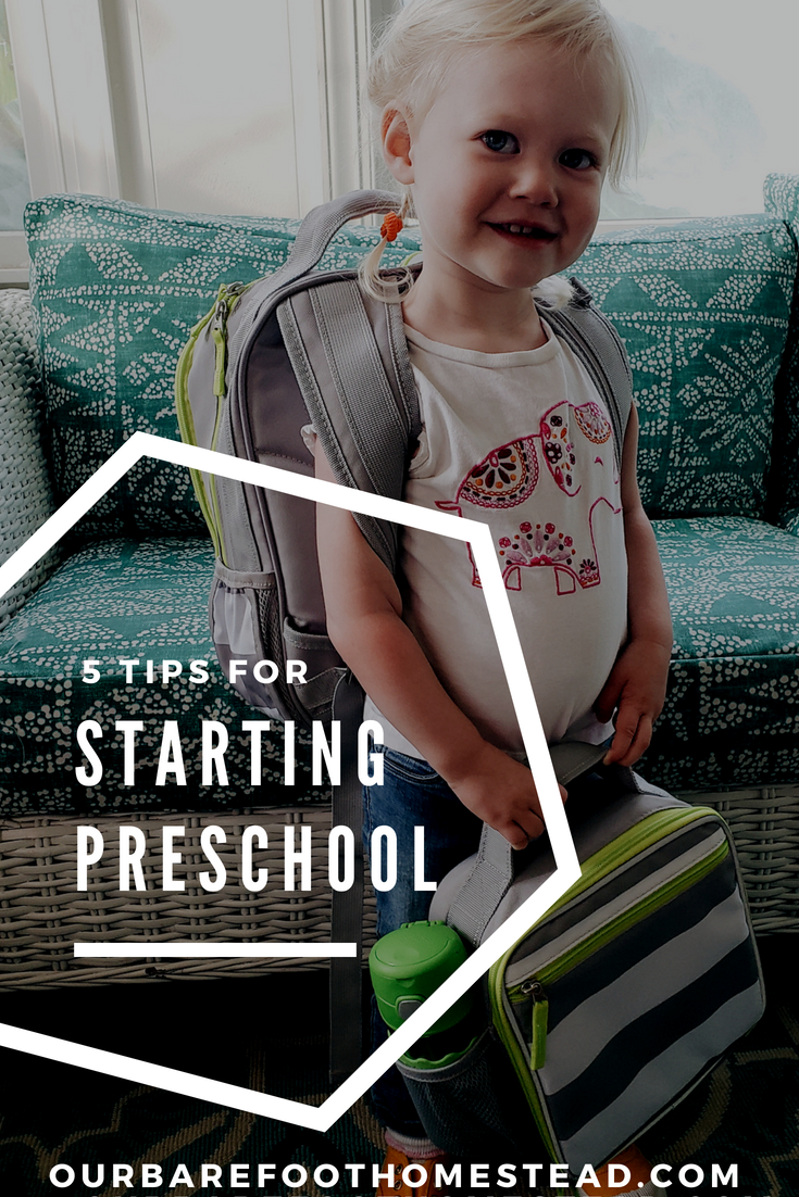 My Best 5 Tips for Starting Preschool