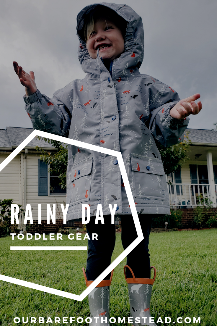 Rainy Day Toddler Gear
