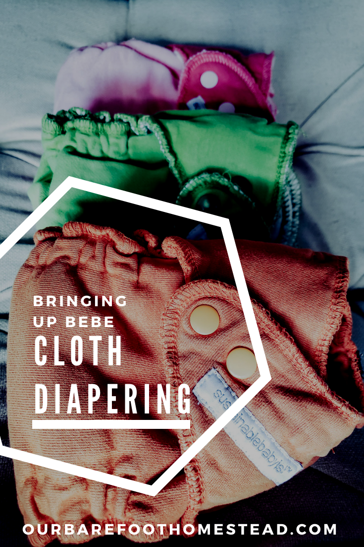Cloth diapering on the Barefoot Homestead