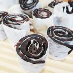 Homemade fruit roll-ups made with real fruit